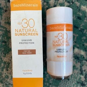 Bareminerals Spf30 Natural Mineral Sunscreen Tan